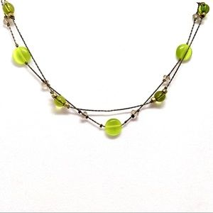 Jewelry - Vintage Double Strand Beaded Necklace